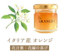 イタリア産 オレンジ 花言葉:花嫁の喜び