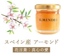 スペイン産 アーモンド 花言葉:真心の愛