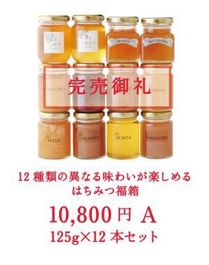 2020 はちみつ福箱 (福袋) 10Aセット 【限定100セット】