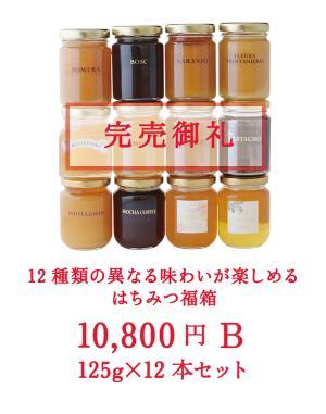 2020 はちみつ福箱 (福袋) 10Bセット 【限定100セット】