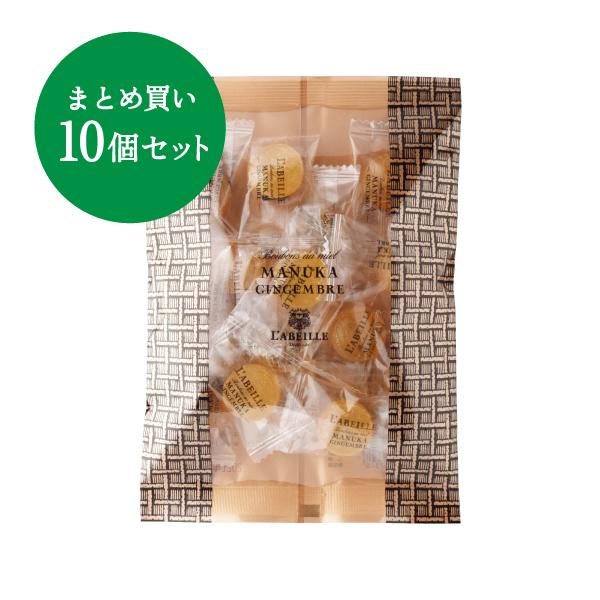 【NODO MIEL PROJECT】マヌカキャンディ ジンジャー 10個セット