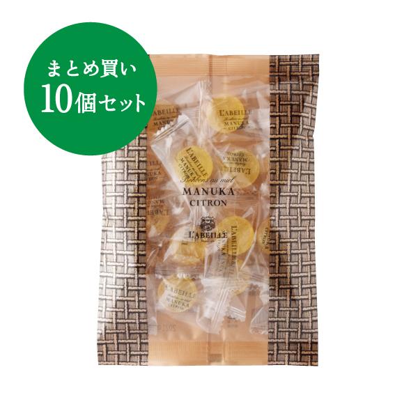 【NODO MIEL PROJECT】マヌカキャンディ レモン 10個セット